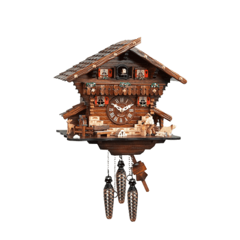 8 Day Woodchopper Cuckoo Clock