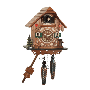 Black-Forest Chalet Quartz cuckoo clock 413QM