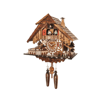Train-Cuckoo-Clock 48710QMT
