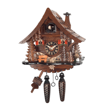 Black-Forest chalet Quartz-cuckoo clock 471QM