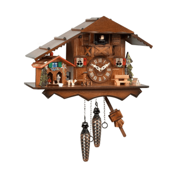 Weather-house Cuckoo clock (Quartz) 426QMT