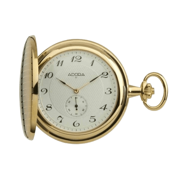 Hunter Adora Quartz Pocket Watch
