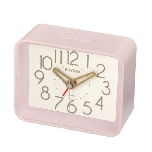 pink bedside clock
